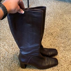 VIA SPIGA brown boots size 8